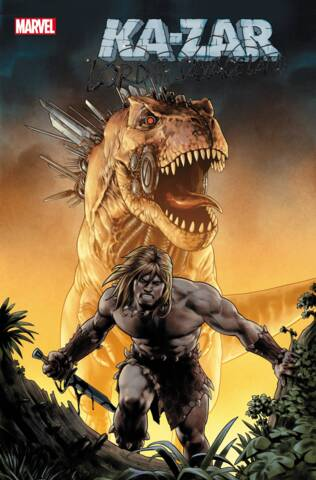 Ka-Zar: Lord of the Savage Land #2 (of 5) Cover A