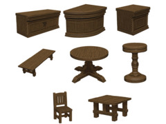 D&D Icons of the Realm: The Yawning Portal Inn - Bars & Tables