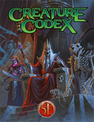 Creature Codex for 5th Edition