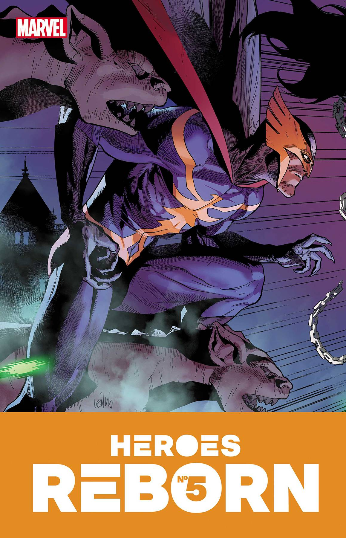 Heroes Reborn #5 (of 7) Cover A