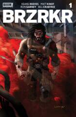 Comic Collection: BRZRKR #1 - #4 Cover C Grampa Foil Variant