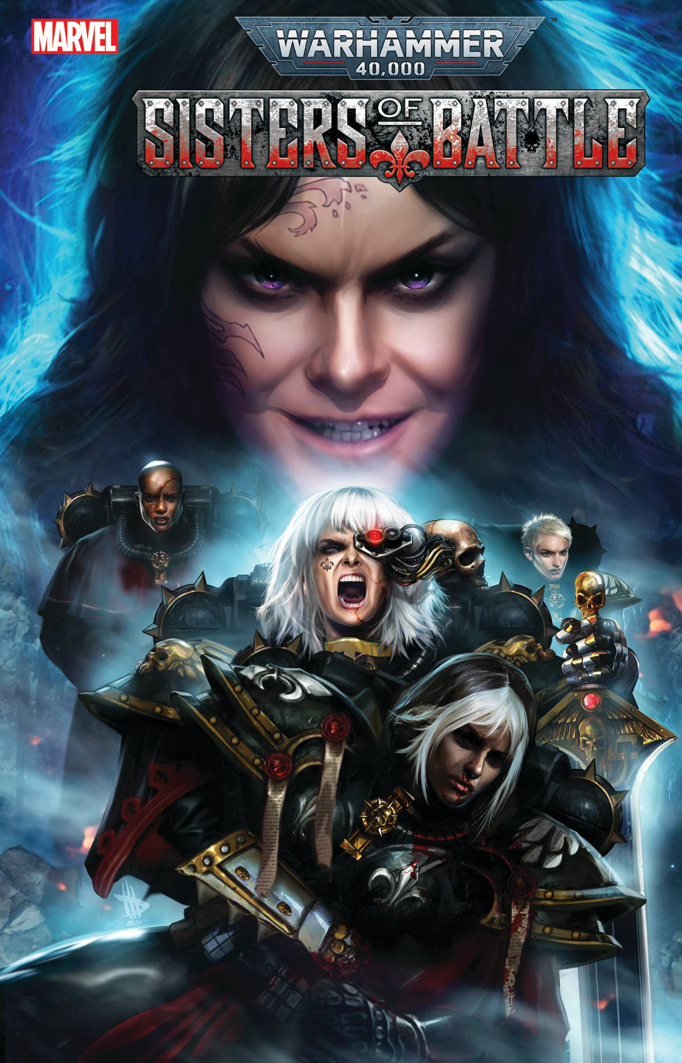 Warhammer 40K: Sisters of Battle #3 (of 5) Cover A