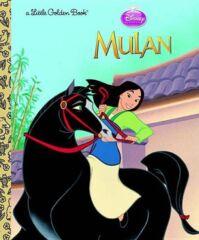 Disney Princess Mulan Little Golden Book HC