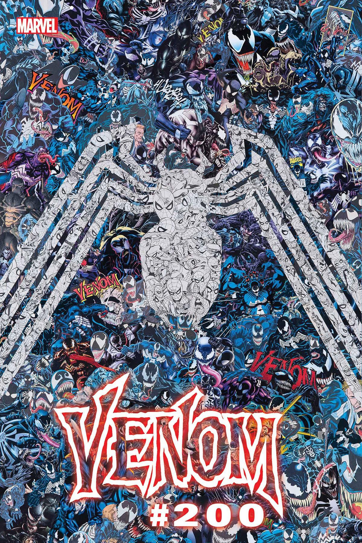 Venom Vol 4 #35 200th Issue Cover M Garcin Variant