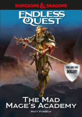 Dungeon's & Dragons Endless Quest: The Mad Mage's Academy HC