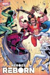 Heroes Reborn: Magneto and Mutant Force #1 Cover A