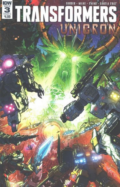 Transformers: Unicron #3 (of 6) Cover A
