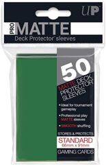 50ct Pro-Matte Green Standard Deck Protectors