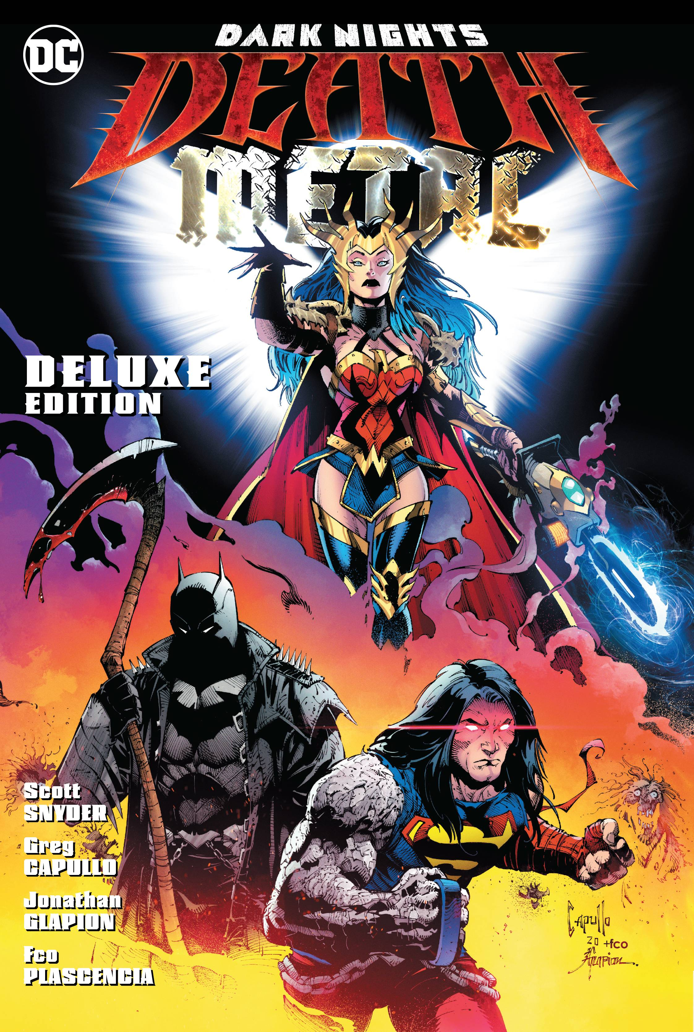 Dark Nights: Death Metal Deluxe Edition HC