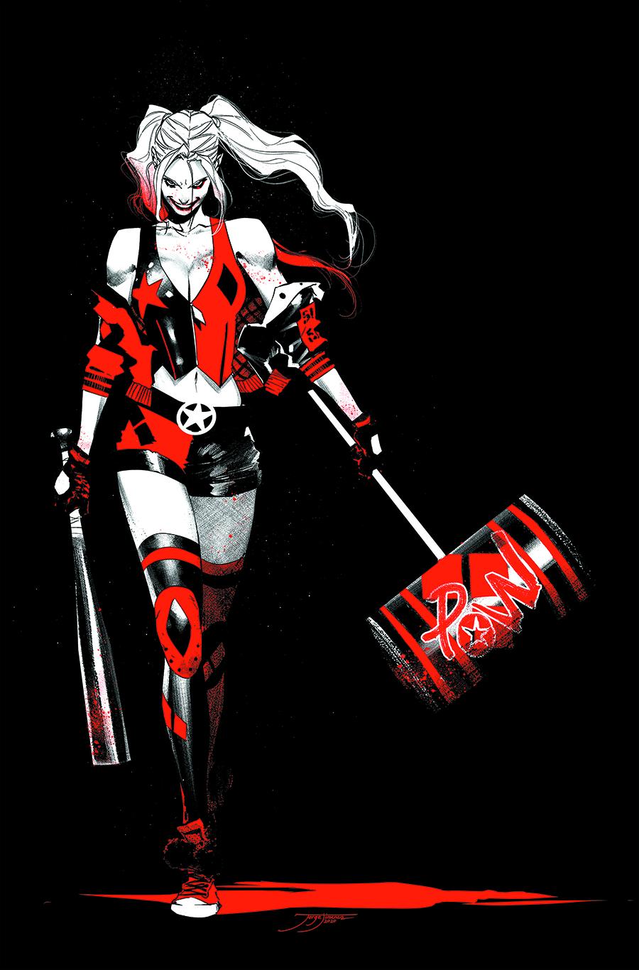 Harley Quinn: Black + White + Red TP