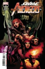 Savage Avengers #13 Cover A