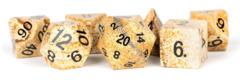 7 Count Dice Stone Set: Picture Jasper