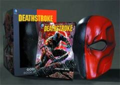 Deathstroke (New 52) Vol 1 Gods Of War Book And Mask Set