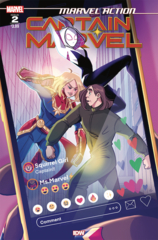 Marvel Action: Captain Marvel (2021) Vol 3 #2 Cover A