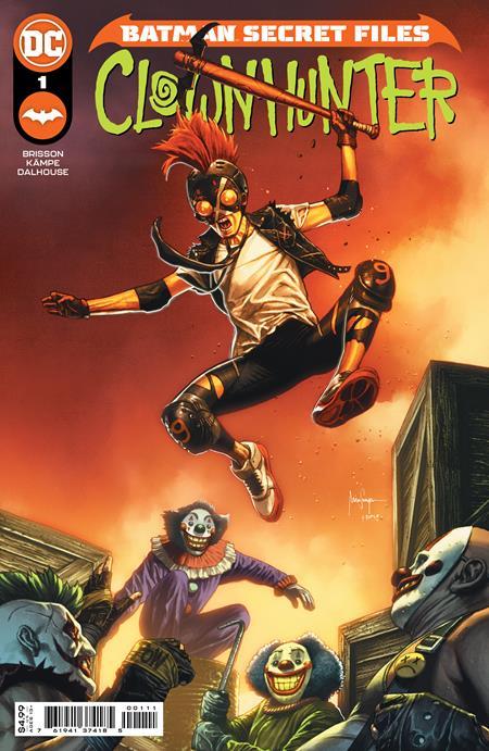 Batman: Secret Files - Clownhunter #1 Cover A