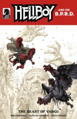 Hellboy and the BPRD: Beast Of Vargu Cover A