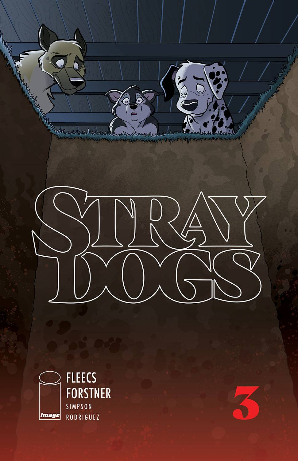 Stray Dogs #3 Cover A