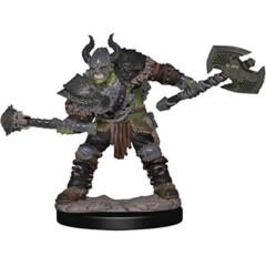 Pathfinder Battles Premium Painted Figure: Male Half-Orc Barbarian