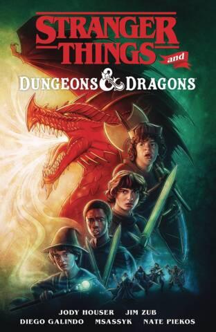 Stranger Things: Dungeon & Dragons TP