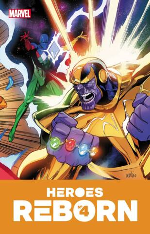 Heroes Reborn #4 (of 7) Cover A