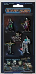Starfinder Miniatures: Iconic Heroes Set 2