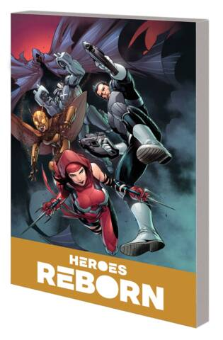 Heroes Reborn: America Mightiest Hero Companion Vol 02 TP