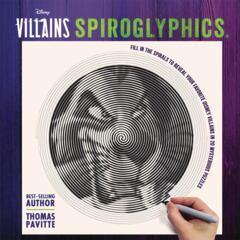 Disney Villains Spiroglyphics Activity Book