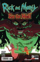 Rick and Morty: Go to Hell #4 Cover A