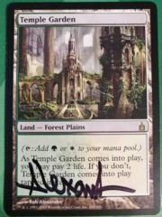 Temple Garden (Signed)