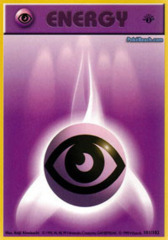 Psychic Energy - 101/102 - Common - 1st Edition (FR)