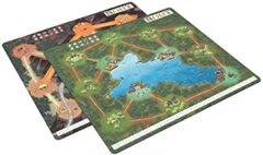 Root : Mountain/Lake Double-Sided Playmat