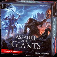 D&D : Assault of the Giants Boardgame - EN
