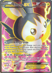 Emolga-EX - 143/146 - Full Art (FR)