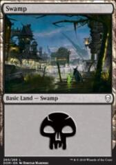 Basic Swamp (Edition au hasard)