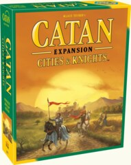 Catan - 5th Edition : Cities & Knights Expansion - EN