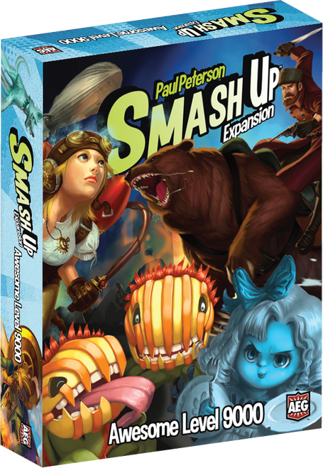 Smash Up : Awesome Level 9000 Expansion - EN