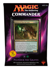 Commander 2015: Black/Green Deck - Plunder the Graves (B/G)