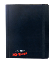 Ultra Pro 4-Pocket Pro-Binder - Black