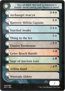 Checklist Card (CH2) - Shadows Over Innistrad - Magic