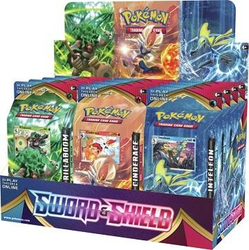 Pokemon Sword & Shield Base Set Theme Decks - Set of 3 (Ships Feb 7)