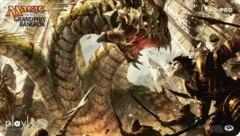 Grand Prix Bangkok 2013 Ltd. Ed. Playmat (Savageborn Hydra)