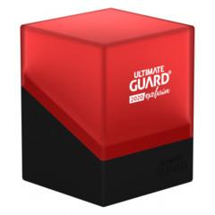 Ultimate Guard - Deck Case 100+ Boulder - Black/Red 2020 Exclusive
