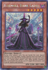 Kozmoll Dark Lady - SHVI-EN083 - Secret Rare - 1st Edition