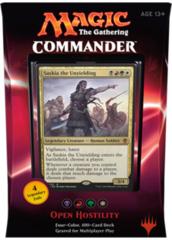 Commander 2016 Deck - Open Hostility (Black/Red/Green/White)