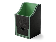 Dragon Shield Black/Green Nest+ (with tray) 100+ Deck Box