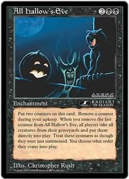 All Hallows Eve - Oversized Promo