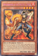 Brotherhood of the Fire Fist - Snake - Purple - DL18-EN009 - Rare - Unlimited Edition