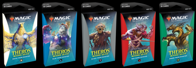 Theros Beyond Death Theme Boosters - Set of 5