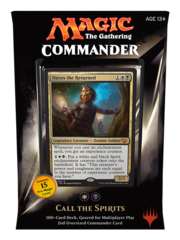 Commander 2015: White/Black Deck - Call the Spirits (W/B)