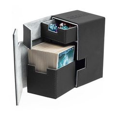 Ultimate Guard Flip'n'Tray Deck Case Xenoskin 100+ - Black